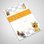 Diplom šachy 1
