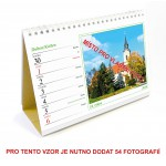 Kalendář stolní týdenní typ 2