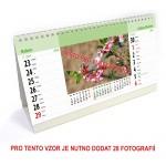 Kalendář stolní 14-ti denní typ 5