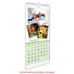 Kalendář nástěnný malý 14x30 typ 2