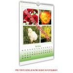 Kalendář nástěnný střední 22x30 typ 1