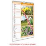 Kalendář nástěnný střední 22x30 typ 2