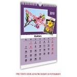 Kalendář nástěnný střední 22x30 typ 3