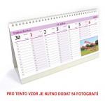Kalendář stolní plánovací typ 2