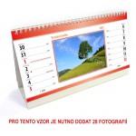 Kalendář stolní 14denní typ 2
