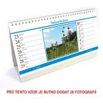Kalendář stolní 14denní typ 4