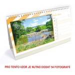 Kalendář stolní týdenní dlouhý typ 4