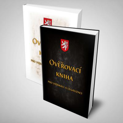 Ověřovací kniha 100 listů