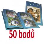 Fotosešit A4 24 stran v hodnotě 349,- Kč