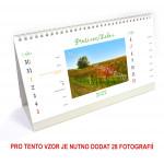 Kalendář stolní 14denní typ 3