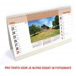 Kalendář stolní 14denní typ 5