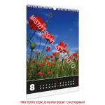 Kalendář nástěnný A4/A3 typ 1