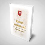 Kniha narození bílá (100 listů)